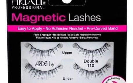 Ardell Magnetic Lashes Double 110 1 ks magnetické řasy pro ženy Black