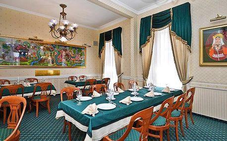 Lázeňský Eger v hotelu v historickém centru s neomezenou konzumací vína a s polopenzí + platnost do února 2020