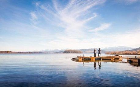 Orava u skiareálů: Hotel Slanica na břehu přehrady s polopenzí + welcome drink
