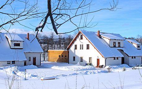 Pobyt na Lipně s wellness, polopenzí a lyžováním
