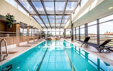 Krakov luxusně přímo v centru v Qubus Hotelu Kraków **** s neomezeným wellness