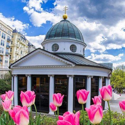 Hotel Polonia v Mariánských Lázních s plnou penzí a wellness procedurami