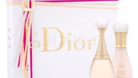 Christian Dior J´adore dárková kazeta pro ženy parfémovaná voda 50 ml + tělové mléko 75 ml