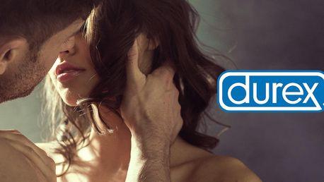 Zásoby kondomů Durex, vibrační kroužky i gely
