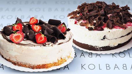 Exkluzivní dorty z vyhlášené cukrárny Kolbaba