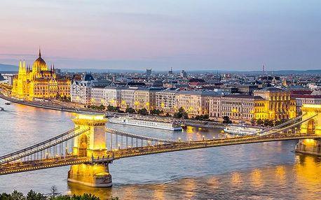 Romantická Budapešť ve 4* hotelu s neomezeným vstupem do wellness centra a snídaní + poukaz na večeři