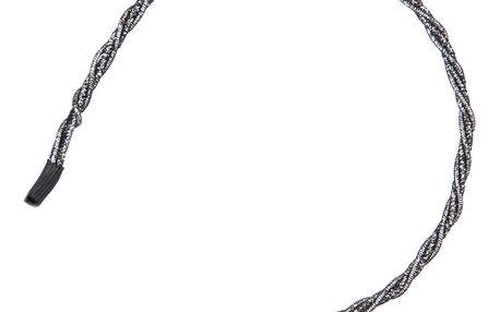 Fashion Icon Čelenka do vlasů vlna metalická
