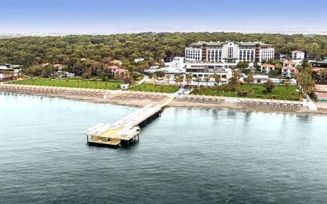 Turecko - Side na 8 dní, ultra all inclusive s dopravou letecky z Prahy, 350 m od pláže