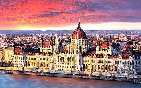 Wellness pobyt pro dva se snídaní v přepychovém Belvedere Hotel Budapešť****.