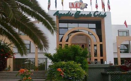 Maroko - Agadir na 8 dní, polopenze s dopravou letecky z Prahy, přímo na pláži