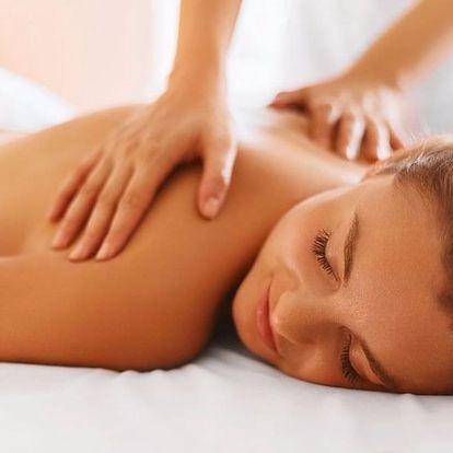 Relaxační masáž zad a šíje dle výběru