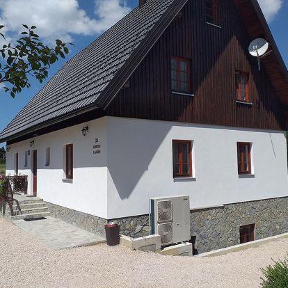 Chorvatsko - Plitvická jezera: Green lakes house