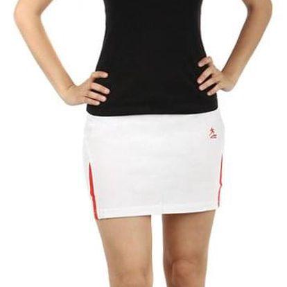 Dámská sportovní sukýnka bílá