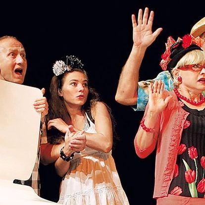 Vstupenka na divadelní představení 2x Woody Allen