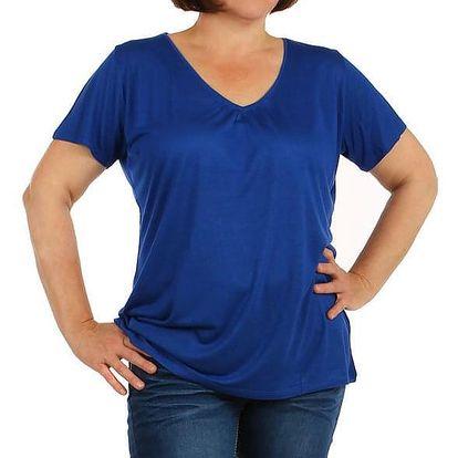 Dámské tričko ve větších velikostech červená