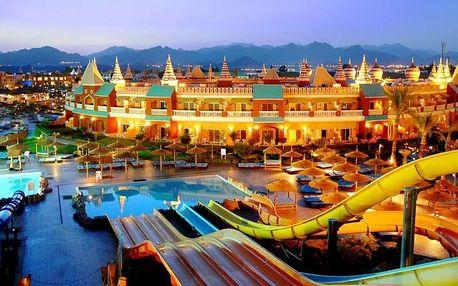 Egypt - Sharm El Sheikh na 8 dní, all inclusive s dopravou letecky z Prahy, 600 m od pláže