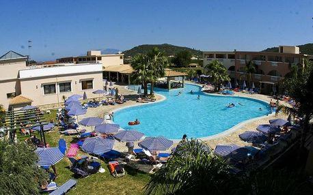 Řecko - Zakynthos na 8 dní, all inclusive s dopravou letecky z Prahy, 1000 m od pláže