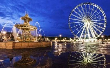 Paříž se zastávkou v La Défense a Versailles. 5 denní zájezd s ubytováním