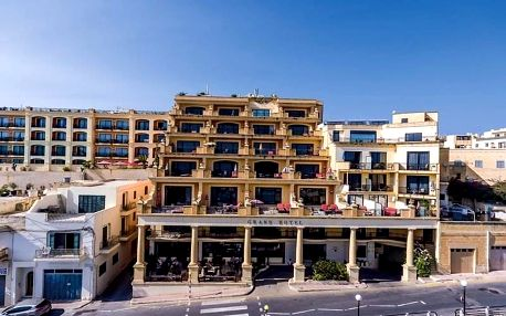 Malta - ostrov Gozo na 8 dní, snídaně s dopravou letecky z Prahy, 3 km od pláže