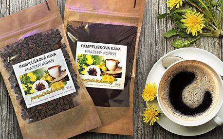 Zdravá káva z kořene pampelišky bez kofeinu