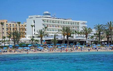 Kypr - Agia Napa na 8 dní, all inclusive s dopravou letecky z Prahy, přímo na pláži