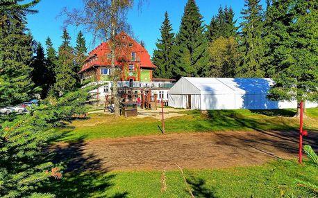 Velikonoce v Krkonoších pro 2 + 2 děti do 12 let zdarma s polopenzí a saunou