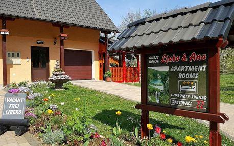 Chorvatsko - Plitvická jezera: Guest House Ljubo & Ana
