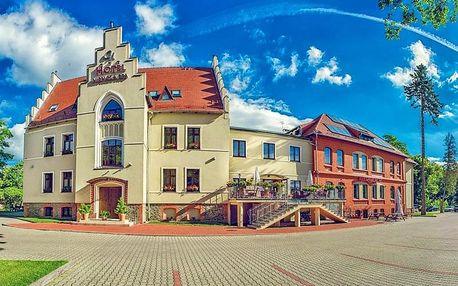 Polsko jižně od Wroclawi v 3* hotelu s neomezeným wellness, polopenzí + lahev vína