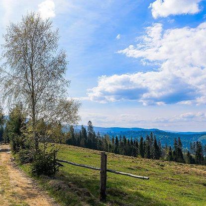 Chata Barborka v Horní Bečvě u Stezky Valašky, i o Velikonocích