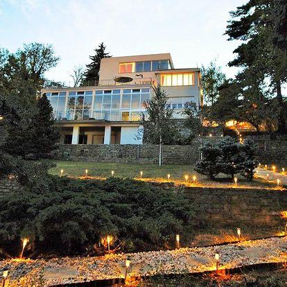 Romantika v Praze: pobyt v luxusní vile s bazénem