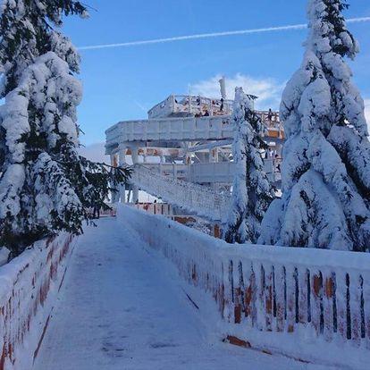 Chata Barborka v Horní Bečvě u ski areálu a Stezky Valašky, i o Velikonocích