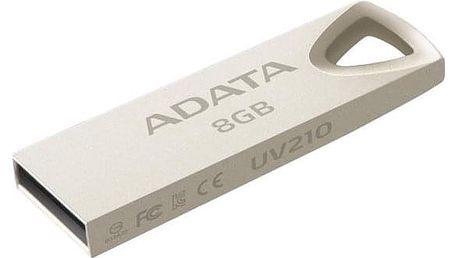 ADATA UV210 8GB kovová (AUV210-8G-RGD)