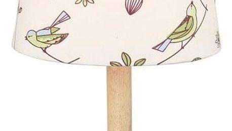 Tempo Kondela Stolní lampa Qenny 7, ptáčci
