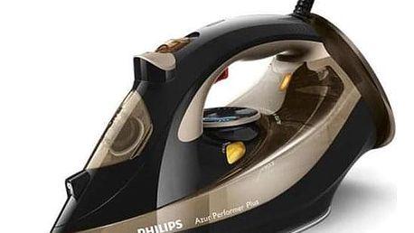 Philips Azur Performer Plus GC4527/00 černá/zlatá
