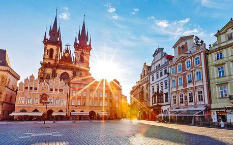 Romantický pobyt se snídaní v centru Prahy