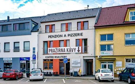 Slovácko v Penzionu Nino Espresso se snídaní a kavárnou poblíž hradů a zámků
