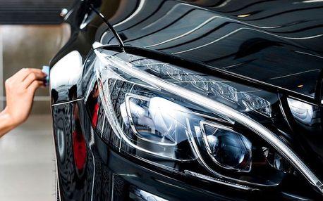Renovace světlometů nebo laku auta v Prostějově