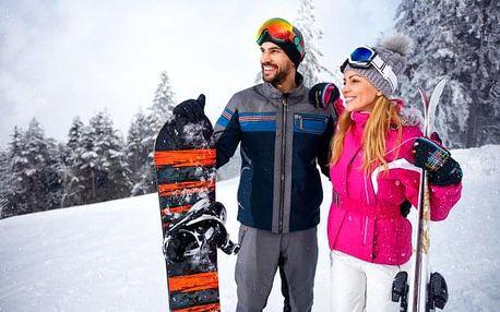 Pobyt v ráji šumavském s úschovnou lyží
