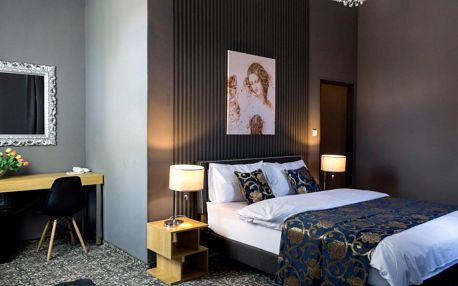 Hotel DaVinci v Mariánských Lázních s polopenzí a minibarem zdarma