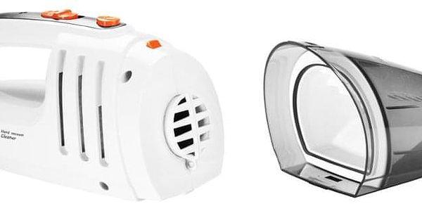 Akumulátorový vysavač Hyundai HVC 101, AKU šedý/bílý2