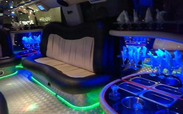 Pronájem limuzíny Hummer H2, 1 hodina, počet osob: maximálně 13 osob, Praha (Praha)3