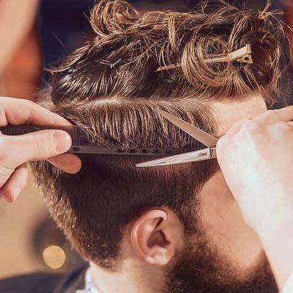 Pánský střih i s holením či úpravou vousů