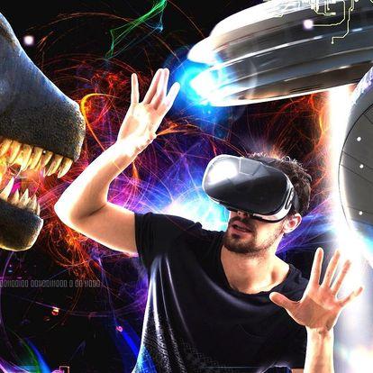 Až 120 minut ve virtuální realitě