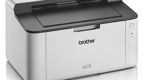 Brother HL-1110E bílá A4, 20str./min, 2400 x 600, 1 MB, USB (HL1110EYJ1)