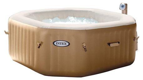 Marimex | Vířivý bazén nafukovací Pure Spa - Bubble čtverec | 11400221