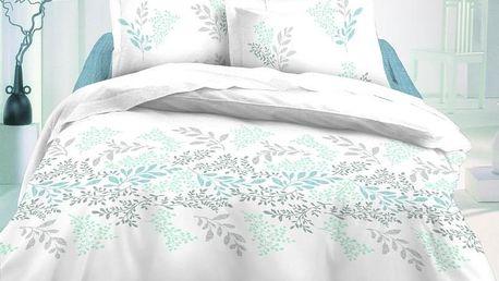 Kvalitex saténové povlečení Victoria bílá Luxury Collection, 220 x 200 cm, 2 ks 70 x 90 cm
