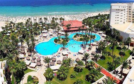 Tunisko - Sousse na 8 až 12 dní, all inclusive s dopravou letecky z Prahy, přímo na pláži
