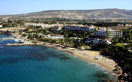 Kypr - Coral Bay na 8 dní, all inclusive nebo polopenze s dopravou letecky z Prahy, přímo na pláži