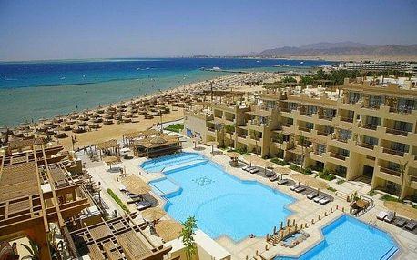 Egypt - Safaga na 8 až 9 dní, all inclusive s dopravou letecky z Prahy, přímo na pláži