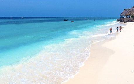 Tanzánie, Zanzibar, letecky na 8 dní plná penze